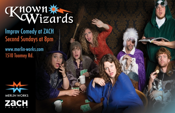 The Known Wizards Second Sunday Improv at ZACH