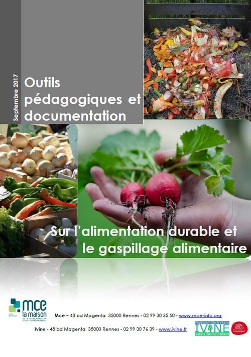 L'alimentation durable et gaspillage alimentaire