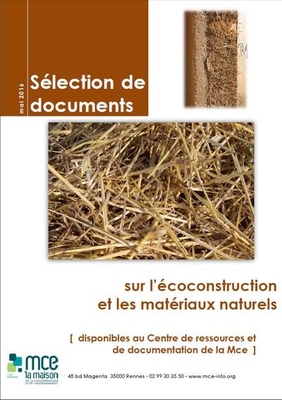 L'écoconstruction