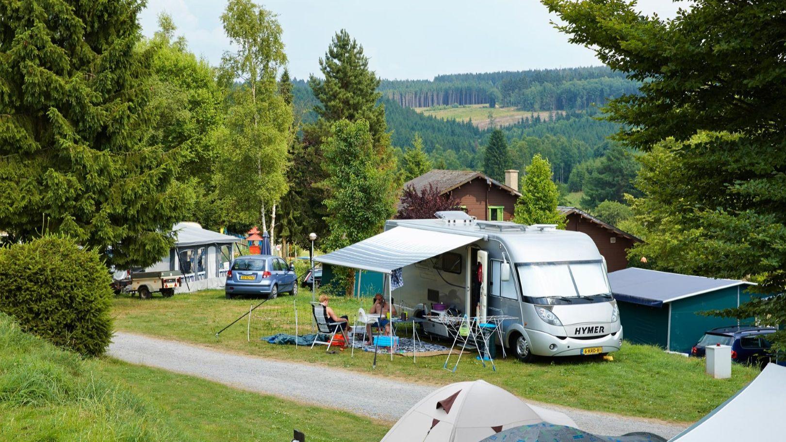 Mooiste panoramacamping in de Ardennen