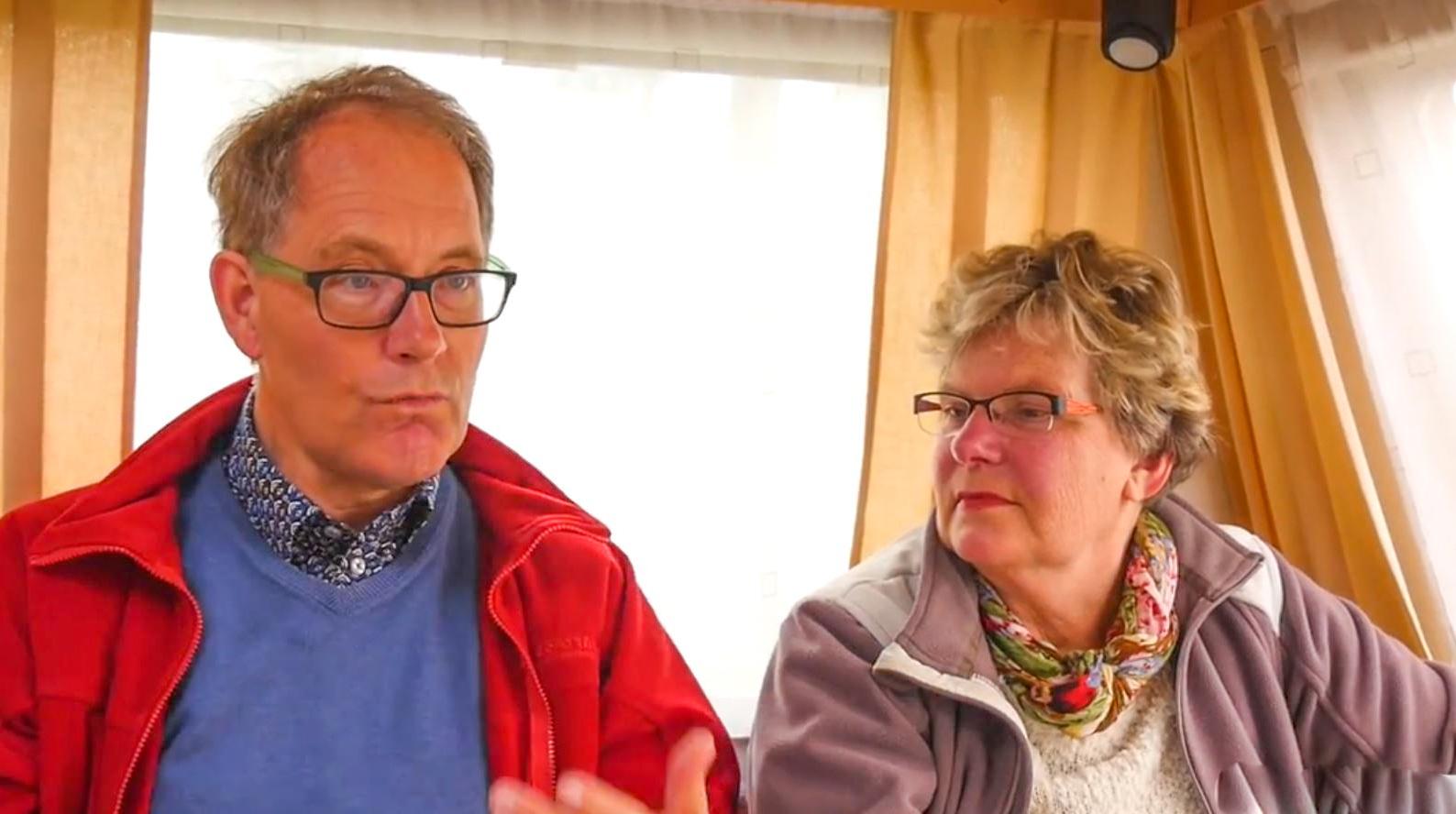 Jan en Yvonne zijn erbij vanaf het eerste uur