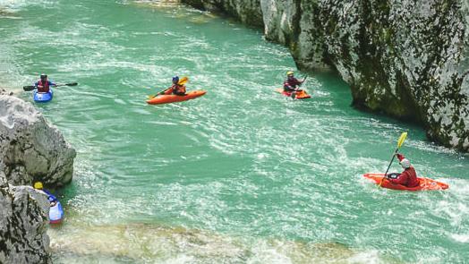 Gevonden: Sloveens watersportwalhalla!