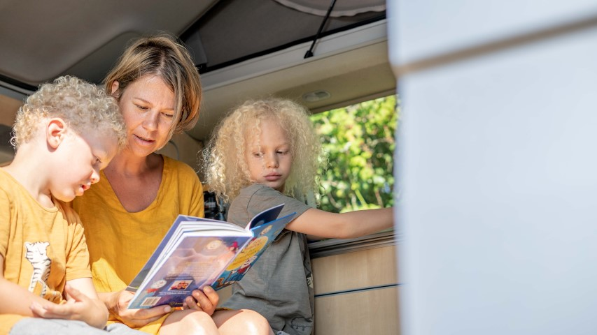 Trip down memory lane – met de kinderen