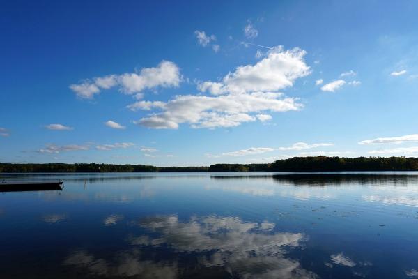 Lake Sagatagan in late September