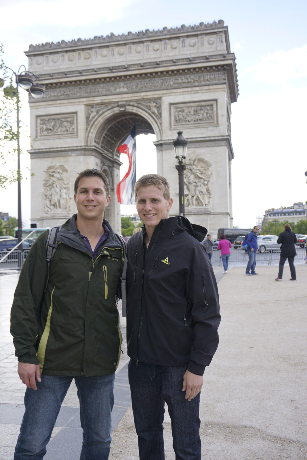 Arc de Triomphe with Brother
