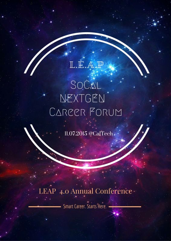 Call-for-participation:LEAP 4.0 Career Forum(11/7 Caltech)