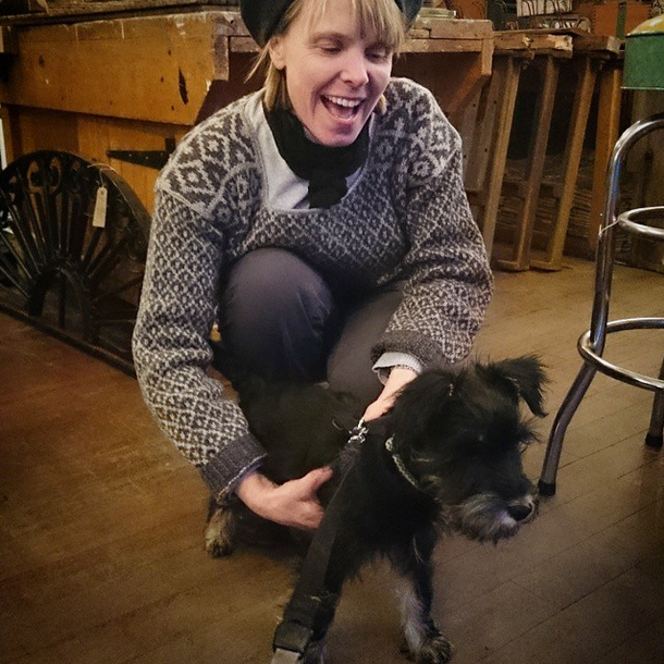 Mrs PVG and a Prize Winning Pooch