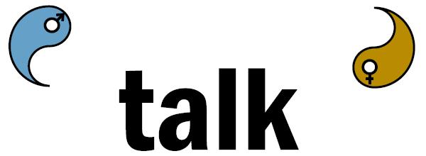 ying-yang talk logo