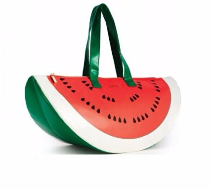 Ban.do Super Chill Cooler Bag, Watermelon, Red/Green
