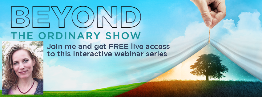Join me on Beyond the Ordinary July 14th!