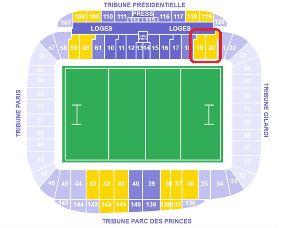 Stade Français Stadium Map