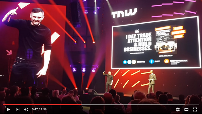 Gary Vee at TNW Europe conference 2016