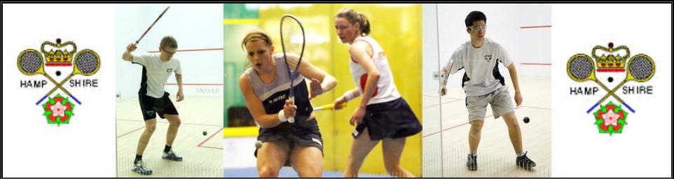 Hampshire Junior Squash banner