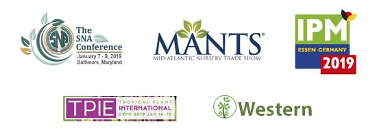 Trade show logos