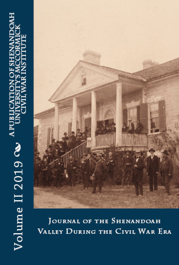 Journal of Shenandoah Valley During the Civil War Era