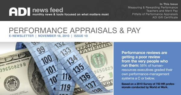 ADI NewsFeed | Issue 10 | Performance Appraisals & Pay