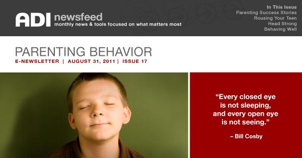 ADI News Feed | August 31, 2011 | Parenting Behavior