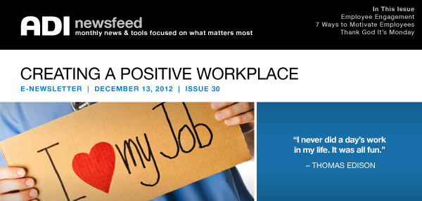Creating a Positive Workplace