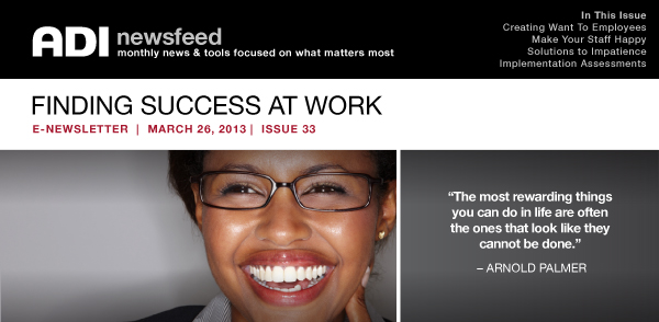 Finding Success at Work