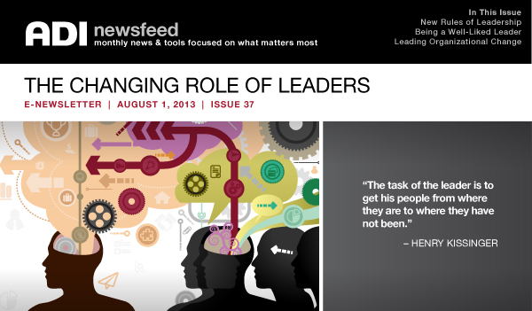The Changing Role of Leaders