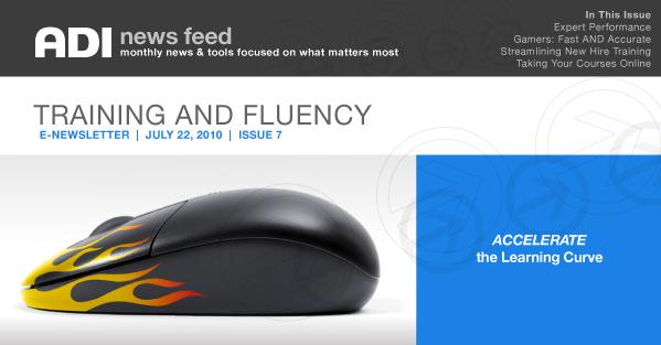 ADI NewsFeed | Issue 7 | Training & Fluency