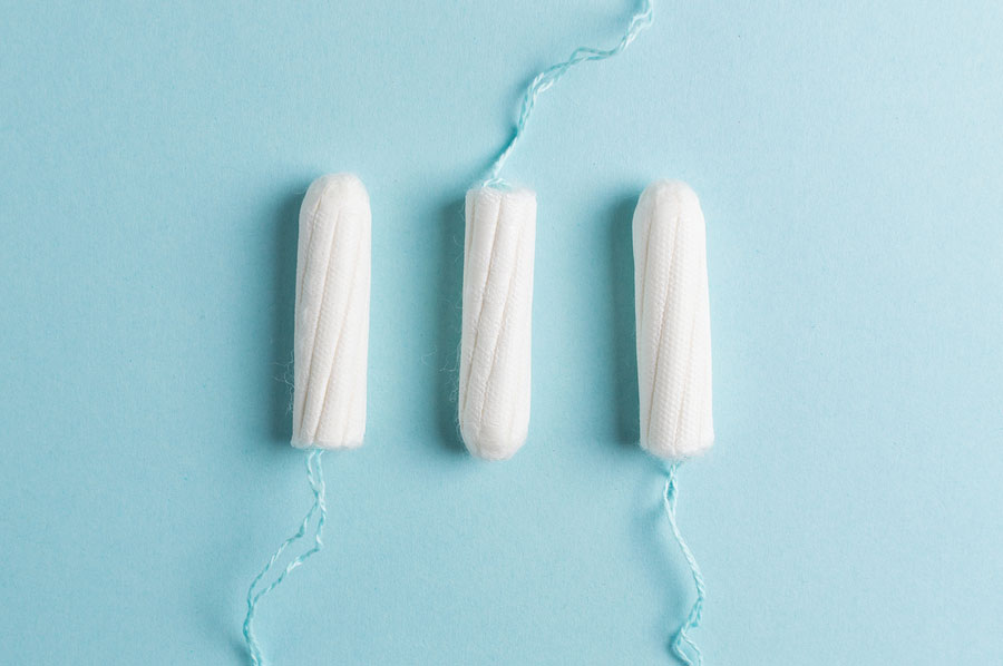 chemicals in tampons