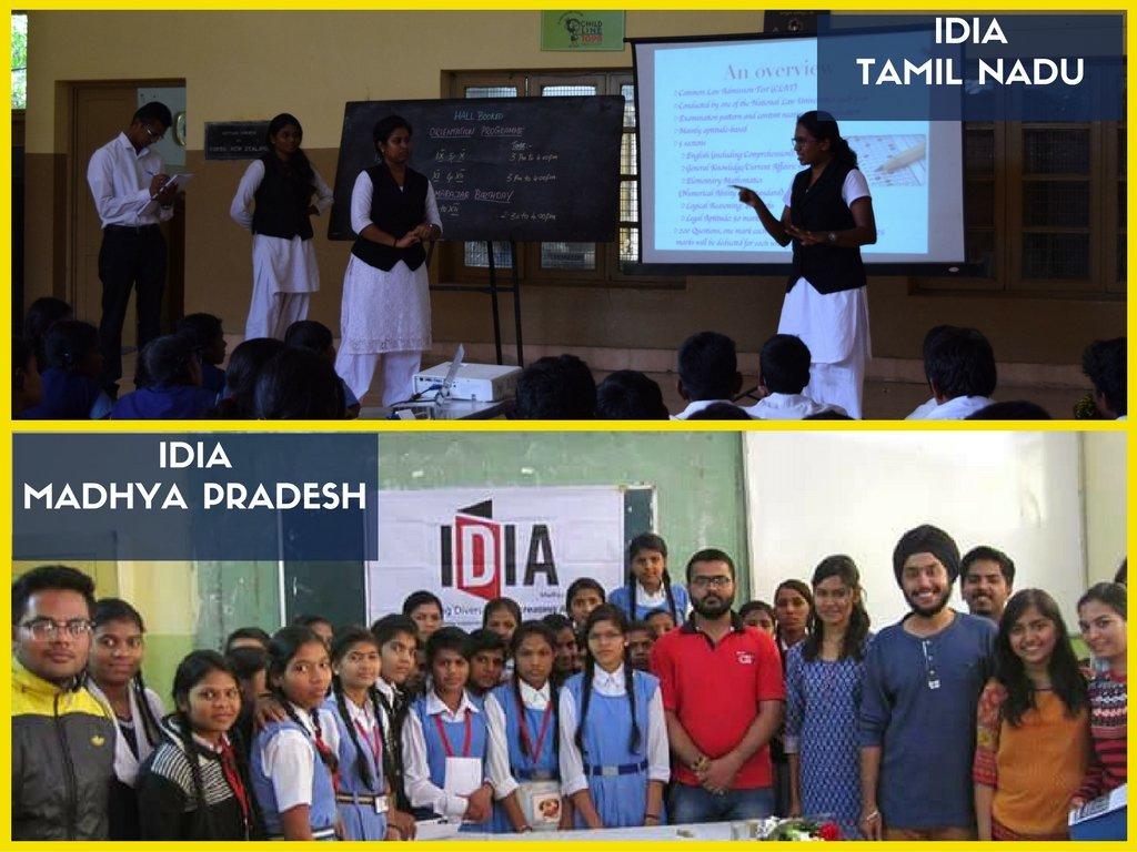 Picture of Tamil Nadu and Madhya Pradesh Teams
