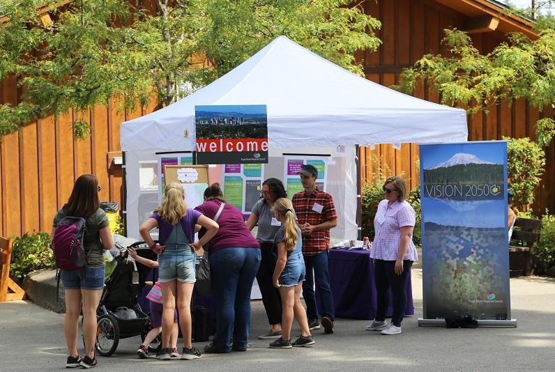 PSRC Booth at Pierce County Fair