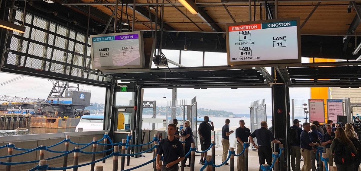 Passenger ferry terminal