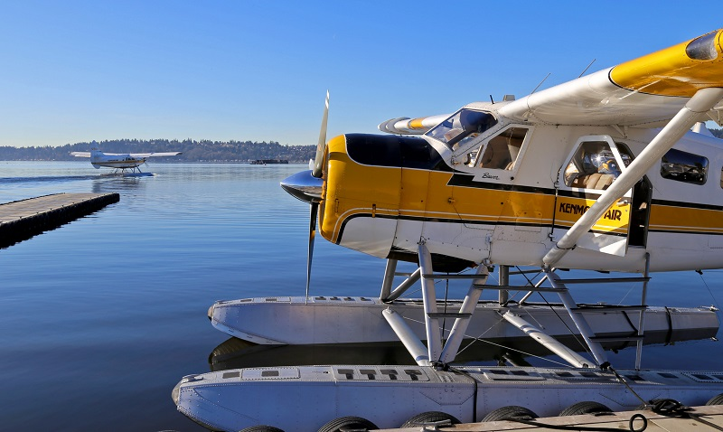 Kenmore Air seaplane