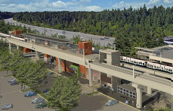Future Mountlake Terrace station