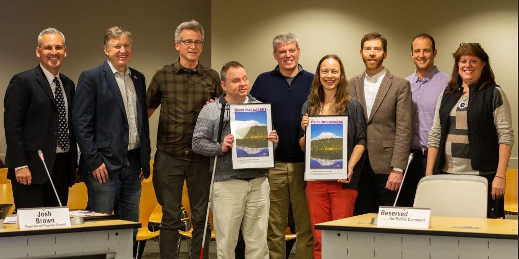 Award presentation group photo