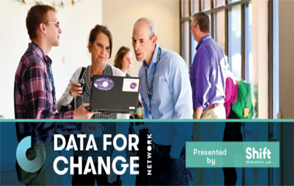 JOIN THE DATA FOR CHANGE NETWORK