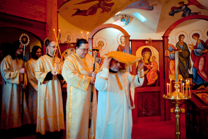 Deacon Andre Paez Ordained to the Holy Priesthood at Three Hierarchs Chapel