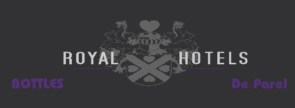 Blijf op de hoogte van Royal Hotels, BOTTLES en De Parel