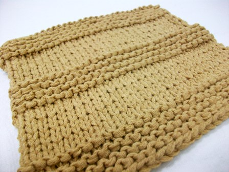 Knit 101 Washcloth