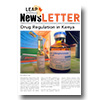 LEAP Newsletter Issue 2 - Cover page