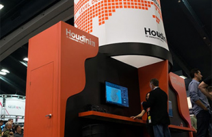 Houdini booth at GDC