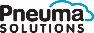 The Pneuma Solutions logo has the company name and a stylized outline of a cloud