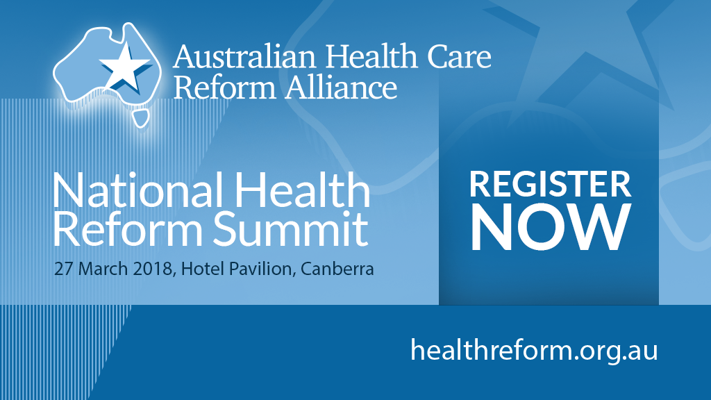 National Health Reform Summit Register Now
