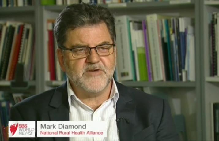 Mark Diamond on SBS video screen capture