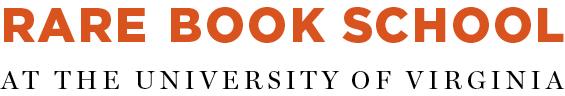 Rare Book School at the University of Virginia
