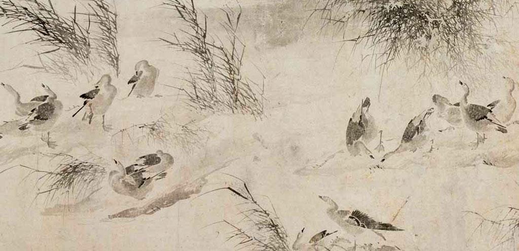 I rapporti tra pittura, letteratura e calligrafia in Giappone e in Cina (X e XIV secolo).