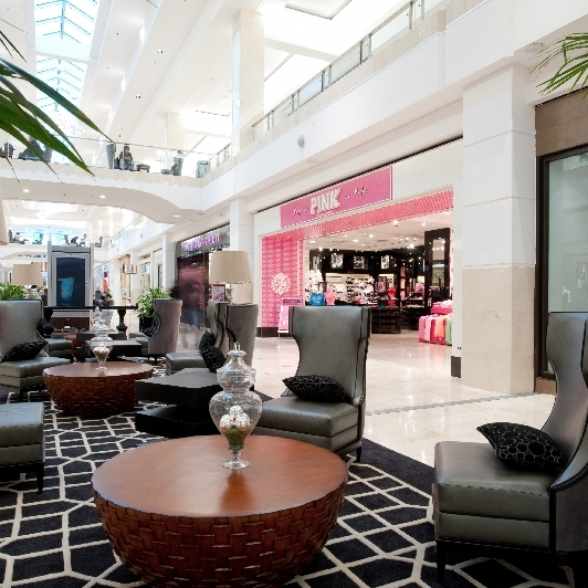 New mall seating