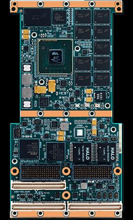 XPedite6101 XMC/PMC Processor Mezzanine Module
