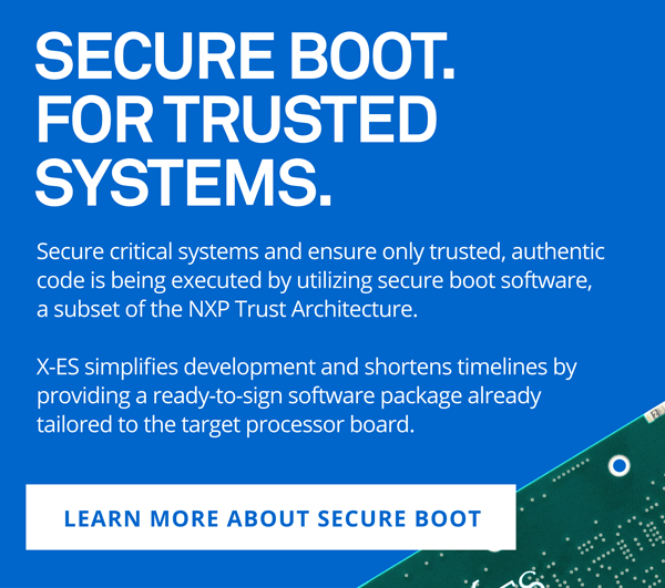 Secure Boot. For Trusted Systems.
