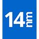 14nm Technology icon