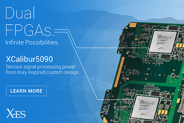 XCalibur5090 6U FPGA from X-ES