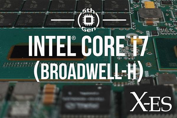 Intel Broadwell-H Boards from X-ES