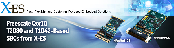 Freescale QorIQ T2080 and T1042-Based SBCs from X-ES